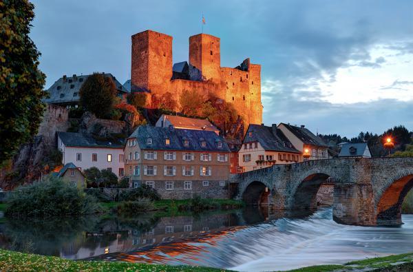 Alte Burg in Runkel